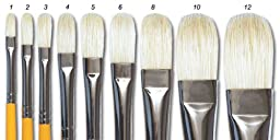 Isabey Special Bristle Brush Series 6088 Filbert 2