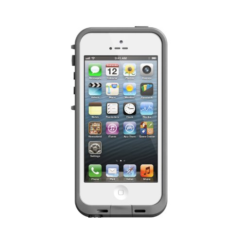 Lifeproof iPhone 5 Case - 1 Pack - Retail Packaging - White