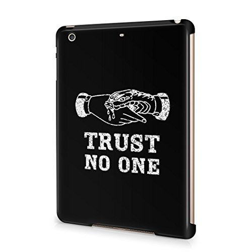Trust No One Black Tumblr Quote Hard Plastic Apple iPad ...