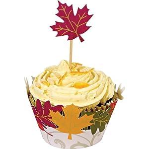 Meri Meri Fall Leaves Cupcake Kit, Makes 24