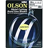 Olson Saw HB71864BL 1/2 by 1/2 by 0.025-Inch 18 Wavy Herb Band Saw Blade