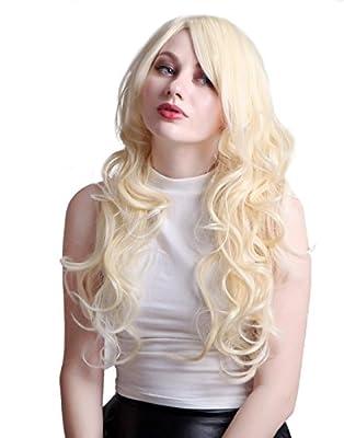 HDE (TM) Long Wavy Blonde Hairstyle Wig