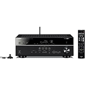 ヤマハ AVレシーバー 5.1ch/4K/Bluetooth/Wi-Fi/ネットワークオーディオ/ハイレゾ音源対応 ブラック RX-V479(B)