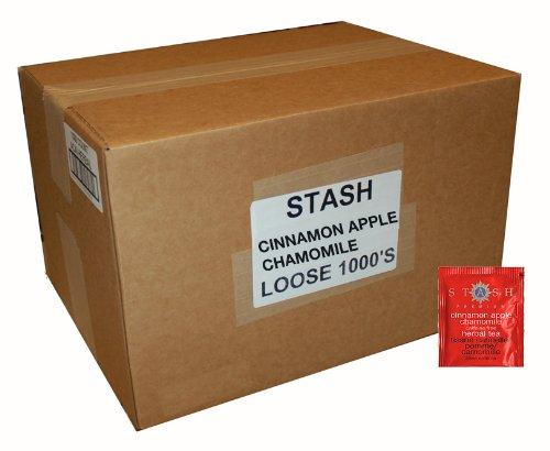 Stash Tea Cinnamon Apple Chamomile Herbal Tea, 1000 Tea Bags In 8.45 Pound Box