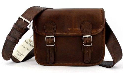 La Borsa a tracolla (S), INDUS borsa pelle vintage, Testa di Moro la borsa a mano, borsa a tracolla, (A4),
