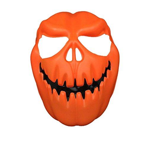 LOVELYIVA NEW Pumpkin Head Halloween Mask OR