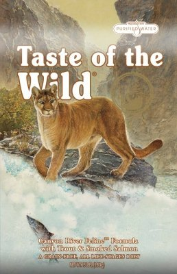 Brand New, DIAMOND PET FOODS - TASTE OF THE WILD CANYON RIVER FELINE (15 LB) (DIAMOND - TASTE OF THE WILD CAT DRY)