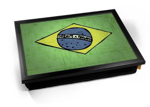 Brazil World Cup 2010 Flag Cushion