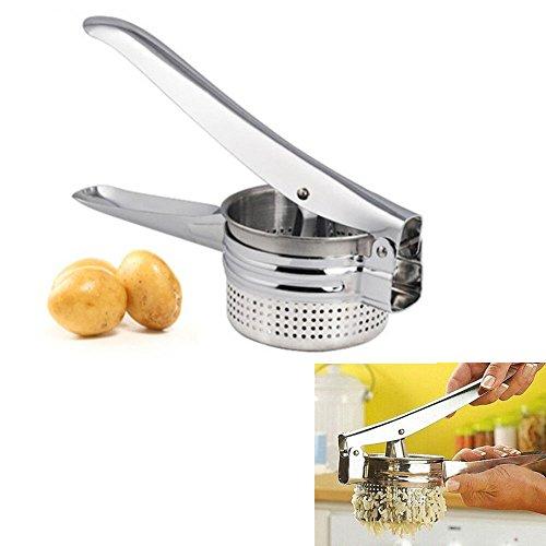 Stainless Steel Potato Masher Ricer Puree Fruit Vegetable Juicer Press Maker XD (Potato Juicer compare prices)