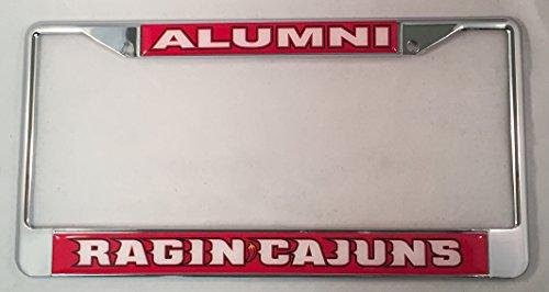 Louisiana Lafayette University Alumni License Plate Frame (Louisiana License Plate Frame compare prices)