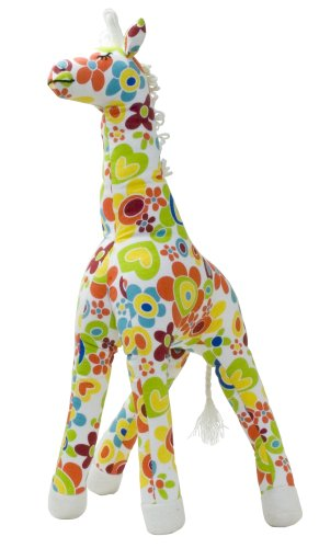 Color Zoo Grady The Giraffe Stuffed Animal, Color Splash