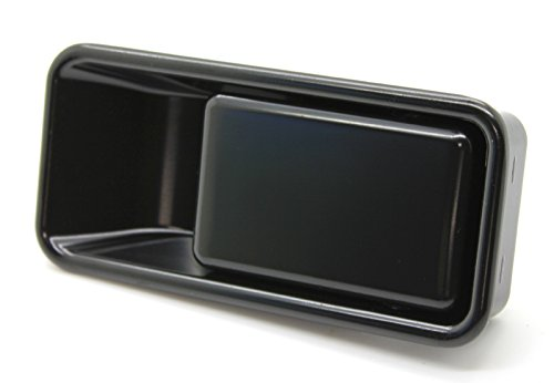 LatchWell PRO-4001001-01 Passenger Side Exterior Half-Door Handle in Black for Jeep Wrangler TJ & YJ (Jeep Door Pull Handles compare prices)