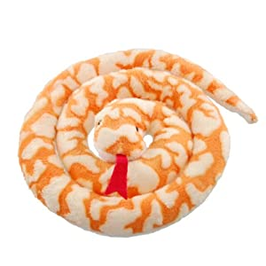 ZSL - Minis Lifelike Toy Orange Snake