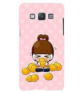 PRINTVISA Cute Girl Case Cover for Samsung Galaxy Grand 3