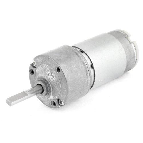 Dc 12V 1000Rpm Gear Motor Torque Electric Speed Reduce Smart Car Motor