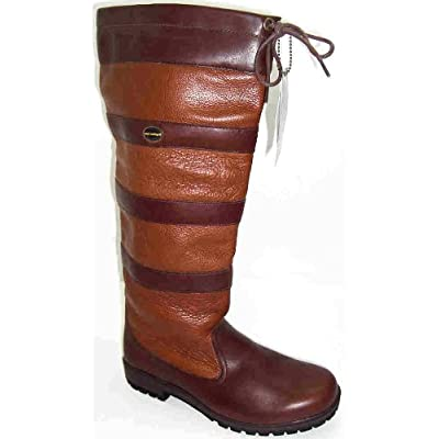 Womens Waterproof Shoes on Wyre Valley Womens Eventer Knee High Waterproof Wellington Boots