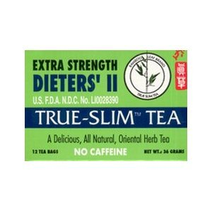Bamboo Leaf Brand Extra Strength Dieters' Ii True Slim Tea 12 Bags