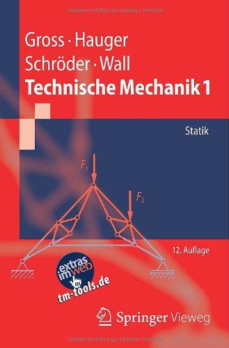 Buchseite und Rezensionen zu 'Technische Mechanik 1: Statik (Springer-Lehrbuch)' von Dietmar Gross