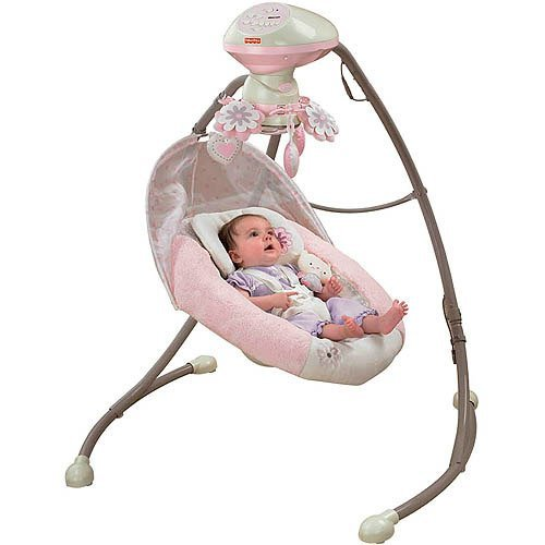 Fisher-Price - My Little Sweetie Deluxe Cradle Sw Review