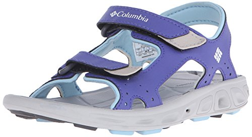 ColumbiaYouth Techsun Vent - Sandali da Atletica Unisex adulti, Multicolore (Purple Lotus/Sky Blue), 35