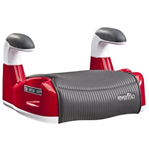 buy evenflo amp performance no back booster car seat red online at low prices in india. Black Bedroom Furniture Sets. Home Design Ideas