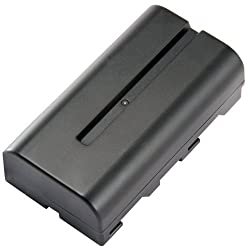 STK's Sony NP-F550 2800mAh Battery is a Long Lasting Battery for Sony HandyCams and LED On-Camera Video Lights Using NP-F550 batteries
