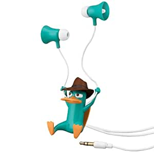 Phineas And Ferb Agent-P Earbuds