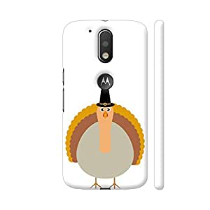 Colorpur Thanksgiving Turkey Artwork On Motorola Moto G4 / Moto G4 Plus Cover Cover (Designer Mobile Back Case) | Artist: Torben