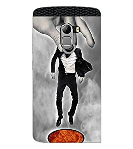 PrintDhaba Funny Image D-3959 Back Case Cover for LENOVO VIBE X3 LITE (Multi-Coloured)