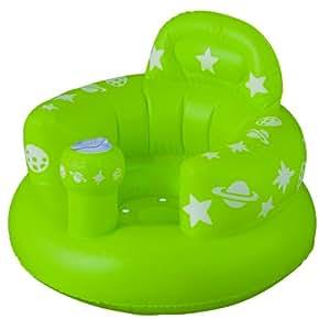 スマートスタート おすわりしたまま洗って流せるチェアー バスソファ ポンプアップ 居間用イスにも グリーン
