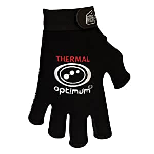 Optimum Boy's Stik Mit Thermal Rugby Gloves - Black, X-Small
