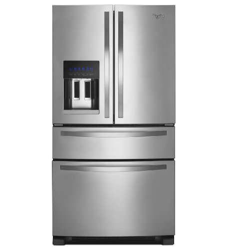 whirlpool wrx735sdbm 25 cu. ft. stainless steel french door