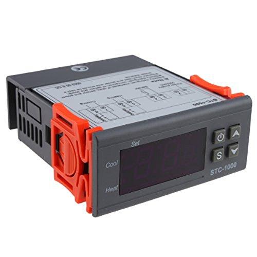 IMAGE® All-purpose Temperature Controller STC-1000 With 2M Cable Cooling/Heating (Temperature Controlled Boiler compare prices)