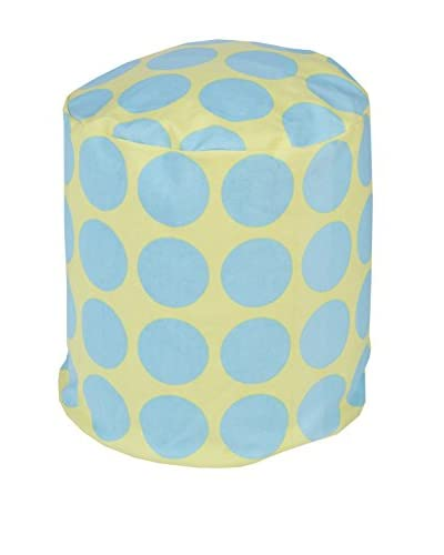 Surya Playhouse Pouf, Aqua