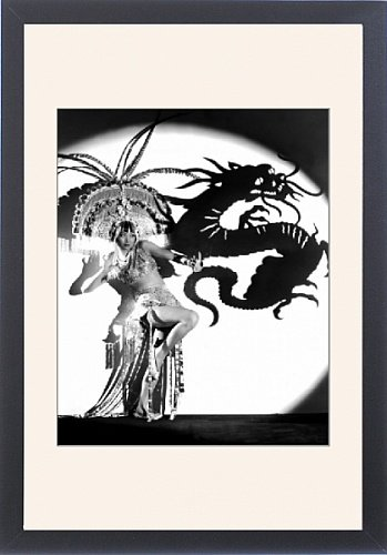Framed Print of Daughter Of The Dragon from Everett Collection