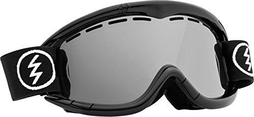 Electric Eg1K Snow Goggle, Gloss Black, Bronze/Silver Chrome