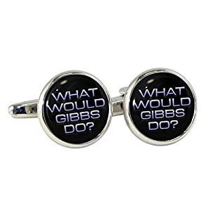What Would Gibbs Do Cufflinks in Gift Box