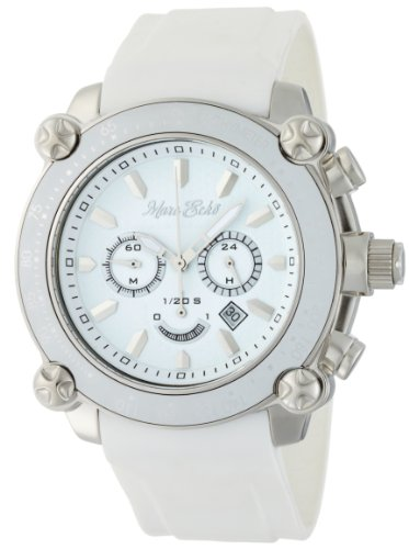 Marc Ecko Men's E18596G1 The DT1 Chronograph White Dial Watch