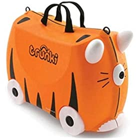 how to open a trunki suitcase