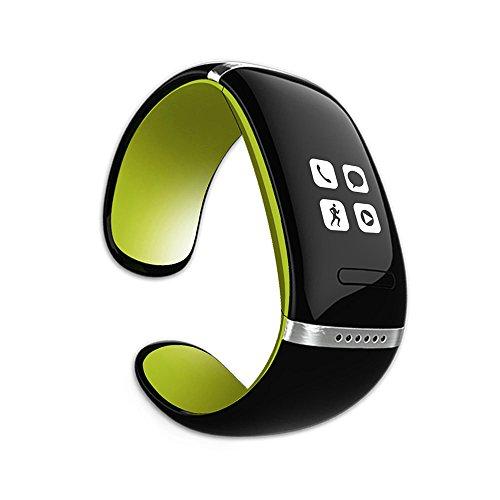 MEMTEQ® Reloj Inteligente Bluetooth Pulsera llamadas de Manos libres / Móvil Anti-perdida / Podómetro Para Teléfono Android, Iphone (IOS), Symbian (Nokia), BlackBerry OS, Windows Teléfono Verde