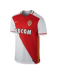 Nike 2015/16 A.s. Monaco Fc Stadium Home Maillot manches courtes Homme