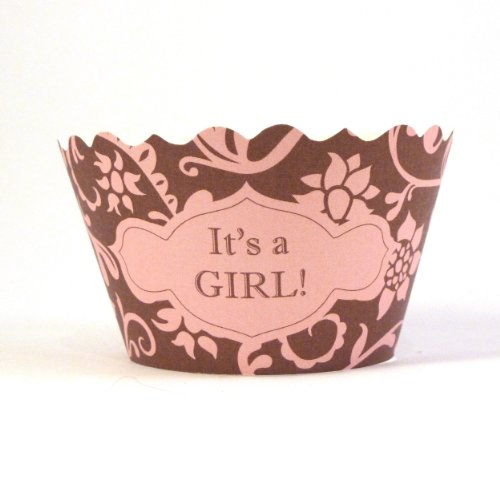 Bella Couture It'S A Girl Cupcake Wrappers front-483470