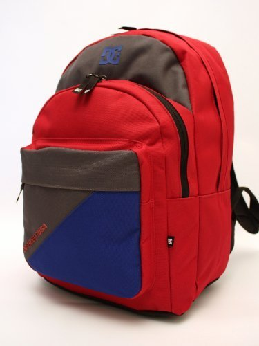 DC-BACKUP Rucksack-Backpack-School-Laptop Bag (Deep Red)