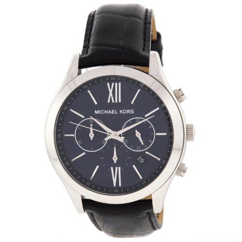 Michael Kors MK8307 Brookton Dark Blue Quartz Mens Watch