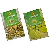 Crafts A To Z AL FAKHER Cardamom & AL FAKHER Grape Flavour Imported Arabian Flavour For Hookah 50 Gm Pack Of 2 Package Contents :- Pack Of 2