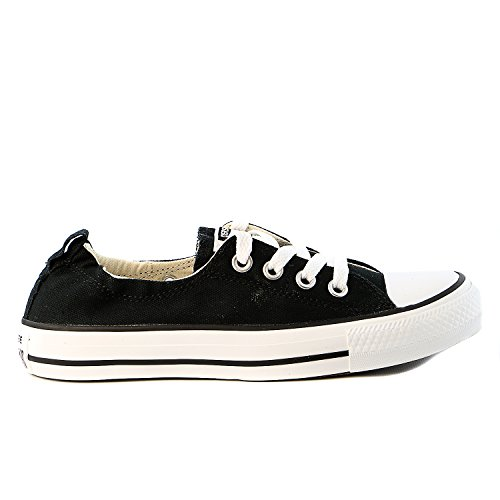 Converse Womens Chuck Taylor Shoreline Black Sneaker - 7.5