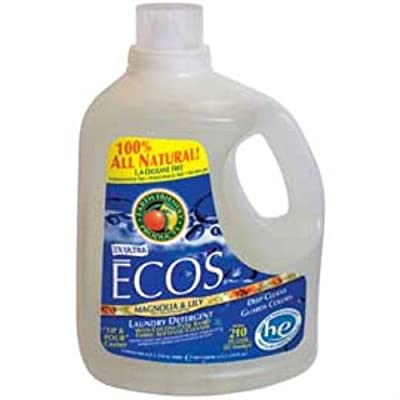 (2 Pack) - Earth Friendly Products - ECOS Lndry Lqd Magnolia & Lily | 1500ml | 2 PACK BUNDLE