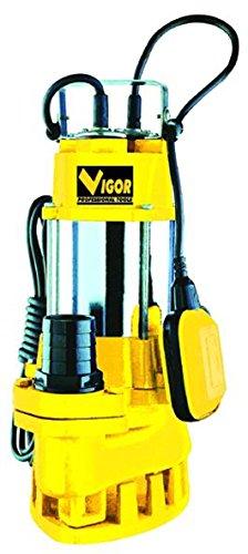 Vigor VE1500 SUB Elettropompa in Inox/Ghisa per Acque Luride, 2 Pollici F