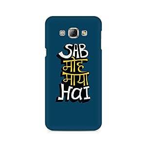 Mobicture Sab Moh Maya Hai Premium Printed Case For Samsung A8
