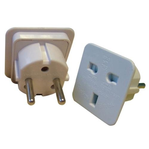 Tikoo 3-Pin Uk Plug Adapter (Indoor)